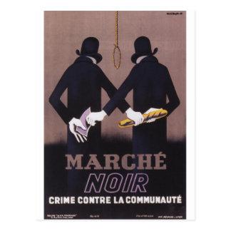 Marche Propaganda Poster Postcard