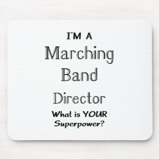 Marching band conductor mouse pads
