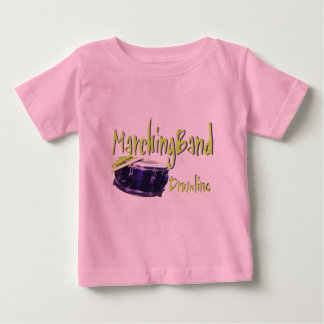Marching Band Drumline Baby T-Shirt