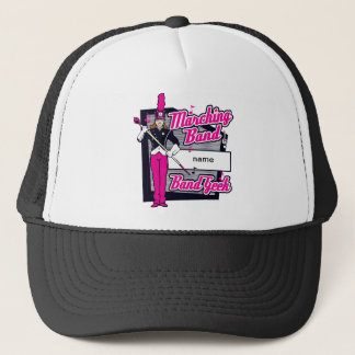 Marching Band Geek Pink Trucker Hat
