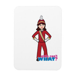 Marching Band Girl Magnet