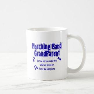Marching Band Grandparent/ Saxophone Coffee Mug