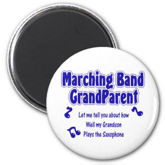 Marching Band Grandparent/ Saxophone Magnet