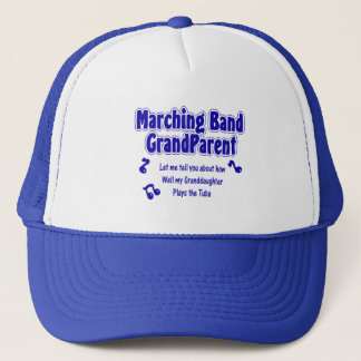Marching Band Grandparent/ Tuba Trucker Hat