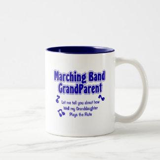 Marching Band Grandparent Two-Tone Coffee Mug