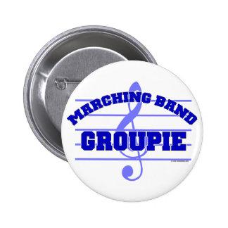 Marching Band Groupie 6 Cm Round Badge
