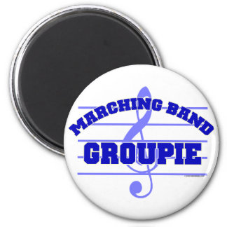 Marching Band Groupie Refrigerator Magnets