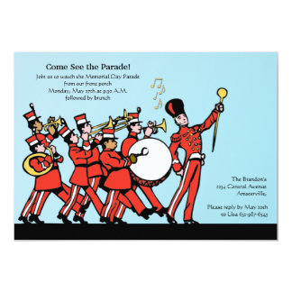 Marching Band Invitation