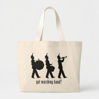 Marching Band Large Tote Bag