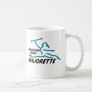 Marching Band Majorette Classic White Coffee Mug