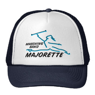 Marching Band Majorette Mesh Hat