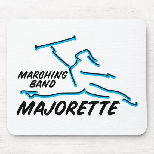Marching Band Majorette Mouse Pad