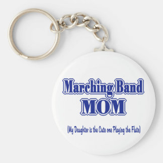 Marching Band Mom/ Flute Key Ring