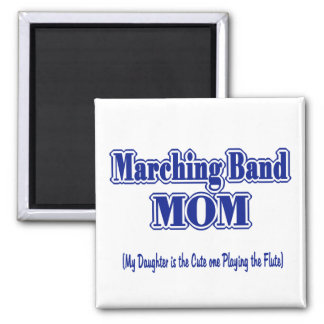 Marching Band Mom/ Flute Magnet