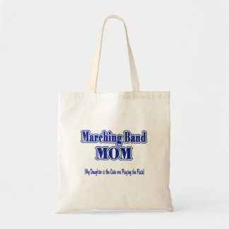 Marching Band Mom/ Flute Tote Bag