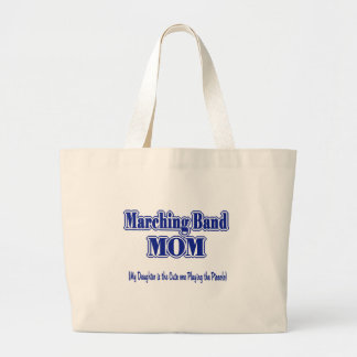 Marching Band Mom/ Piccolo Large Tote Bag