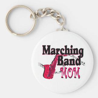 Marching Band Mom/ Saxophone Key Ring