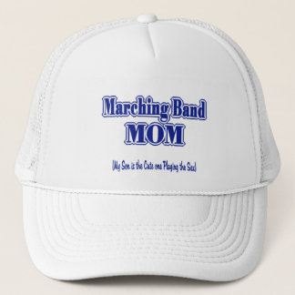 Marching Band Mom/ Saxophone Trucker Hat