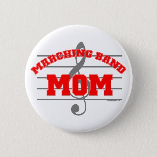 Marching Band Mum 6 Cm Round Badge