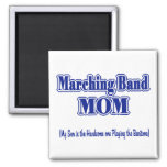 Marching Band Mum / Baritone Square Magnet