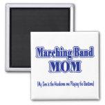 Marching Band Mum / Baritone Square Magnet