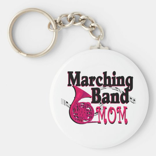 Marching Band Mum/ French Horn Key Ring
