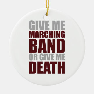 Marching Band or Death Round Ceramic Decoration