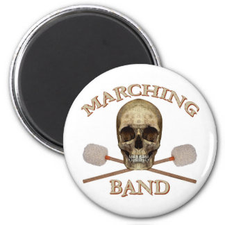 Marching Band Pirate Magnets