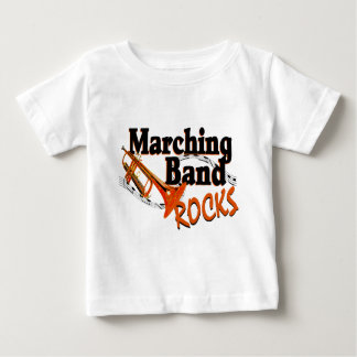 Marching Band Rocks Baby T-Shirt