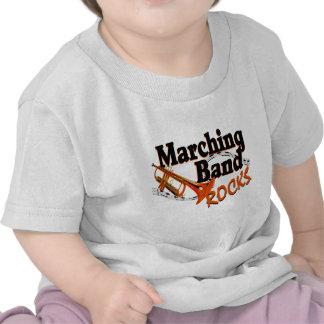 Marching Band Rocks T Shirt