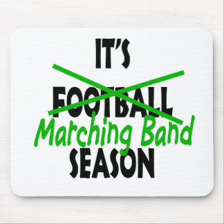 Marching Band Season Mouse Pads