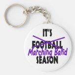 Marching Band Season/ Purple Key Chain
