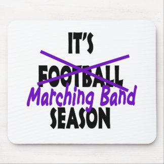 Marching Band Season/ Purple Mouse Pad