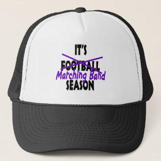 Marching Band Season/ Purple Trucker Hat