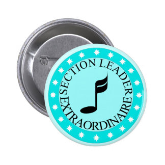 Marching Band Section Leader Button