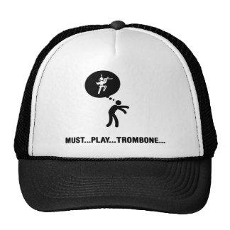 Marching Band - Trombone Player Cap