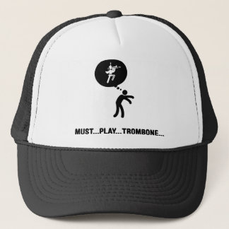 Marching Band - Trombone Player Trucker Hat