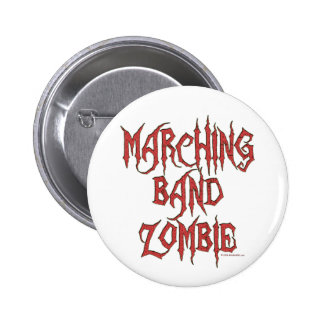 Marching Band Zombie 6 Cm Round Badge