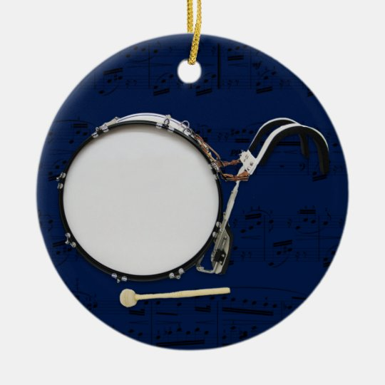 Marching Bass Drum - Pick your colour Christmas