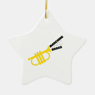 Marching Brass Christmas Tree Ornament