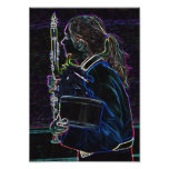 Marching Clarinetist Photo Print