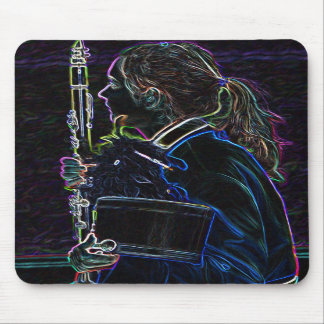 Marching Clarinetist Standard Mousepad