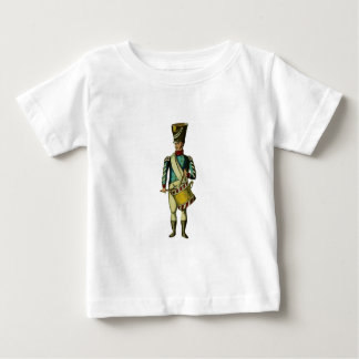Marching Drummer Victorian Soldier Baby T-Shirt