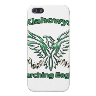 Marching Eagle Shell for iPhone 4 iPhone 5/5S Cases