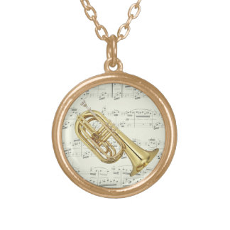 Marching Euphonium - Necklace - Choose your color