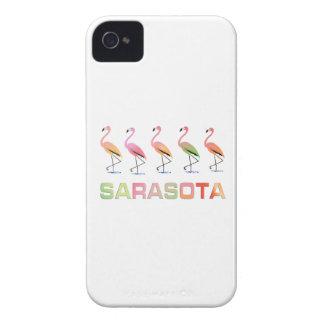 Marching Flamingos Sarasota Blackberry Bold Case