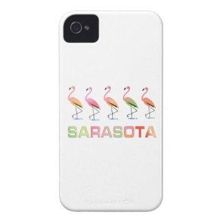 Marching Flamingos Sarasota iPhone 4 Case
