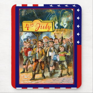 Marching on the 4th July Mouse Pad