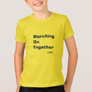 Marching On Together Leeds United Kids T-Shirt