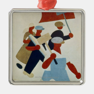 Marching Protestors Christmas Ornament